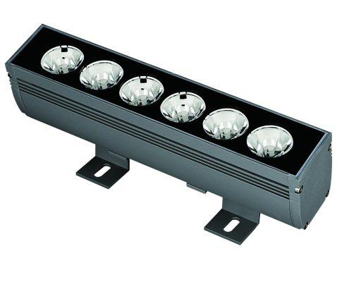 Narrow Beam 3° Degree Linear LED Wall Graze Light 1-4Feet/0.3-1M LL-55117 AC100-277V