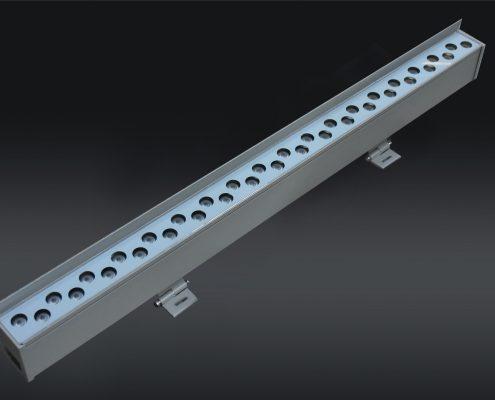 Linear Wall Wash RGBW DMX LL-6584 36-72W AC110-277V input, RDM,DMX control, programmable Lineart Lighting