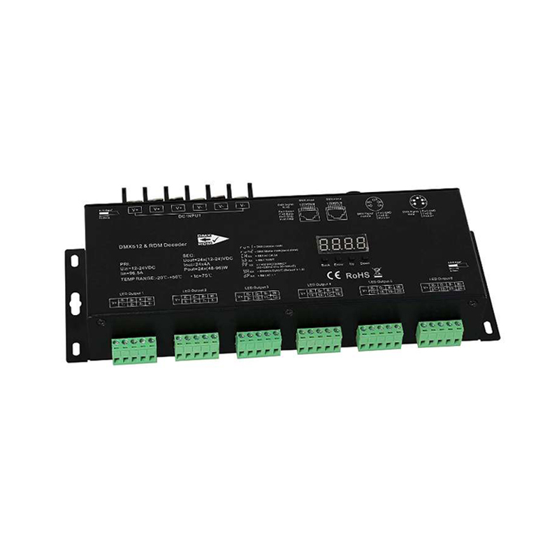 DMX512 master controller Lineart Lighting