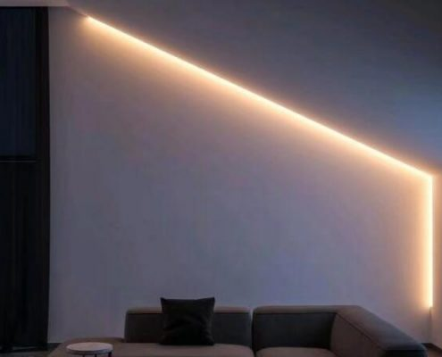 SMD 2835 constant current led flex strip light 3000K Lineart Lighting