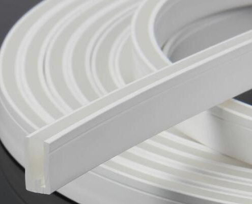flexible sillicon tube for LED neon flexible strip  Lineart Lighting