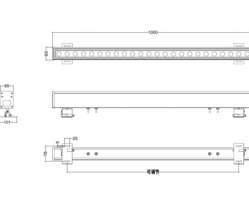 Linear-Wall-Wash-RGBW-DMX-LL-6584-36-72W-AC110-277V-input-RDMDMX-control-programmable-Lineart-Lighting