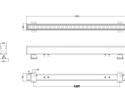 Linear-Wall-Wash-RGBW-DMX-LL-6584-36-72W-AC110-277V-input-RDMDMX-control-programmable-Lineart-Lighting