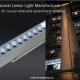 Lumină liniară cu pășunare cu LED Accent Beam LL-80169 50-100W Iluminare liniară