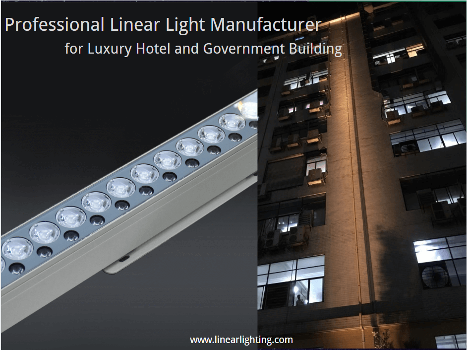 LED Linear Grazing Light Accent Beam LL-80169 50-100W