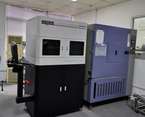 Lineart Lighting Laboratory Temperature and Humidity Testing